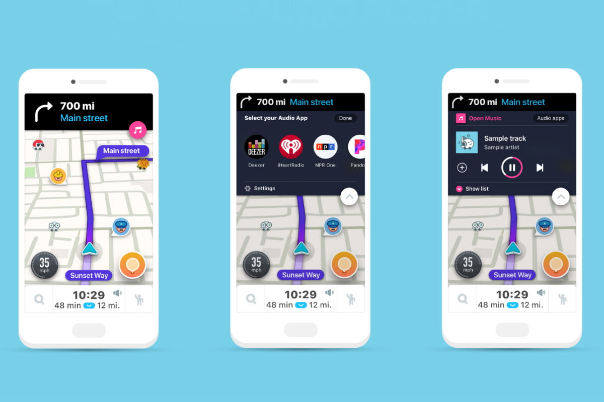 Waze's New Audio Player Aims to Make Your Commute More