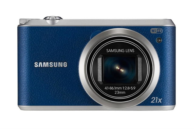 samsung ces 2014 point and shoot cameras wb350f 001 front blue