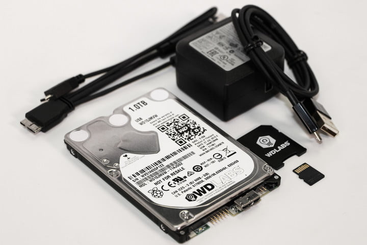 PiDrive Raspberry Pi HDD from Western Digital gives the little PC big storage