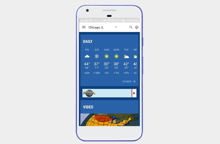 best weather apps android channel screenshot