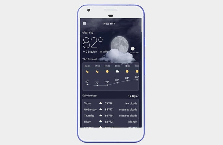 The Best Weather Apps For Android Digital Trends