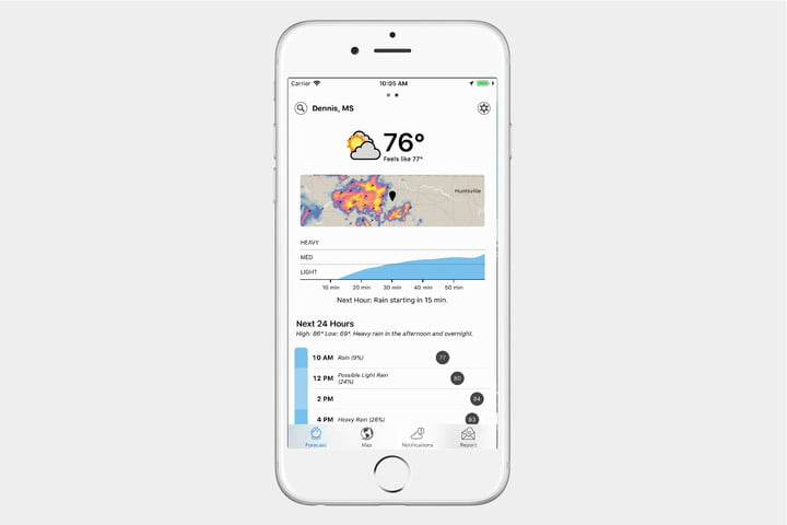 best weather apps for iphone screenshot 2