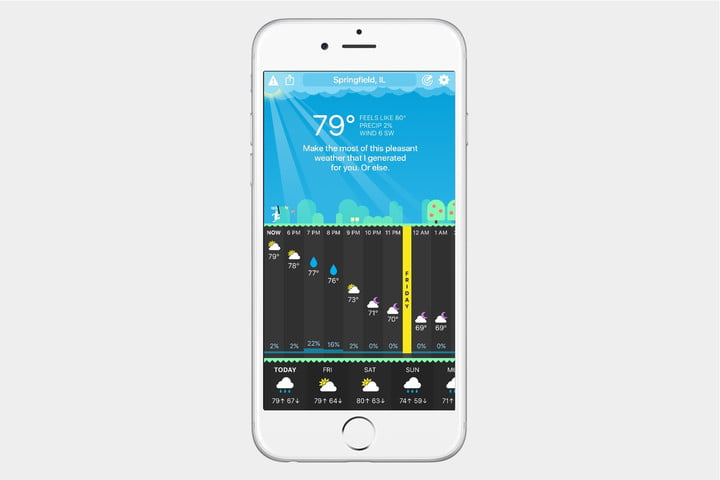 best weather apps for iphone screenshot