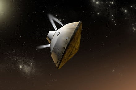 Descending at an angle could be key to landing heavier craft on Mars