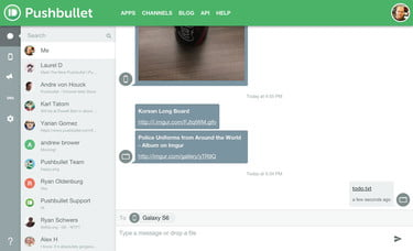 PushBullet Gets Update with Emphasis on Messaging | Digital