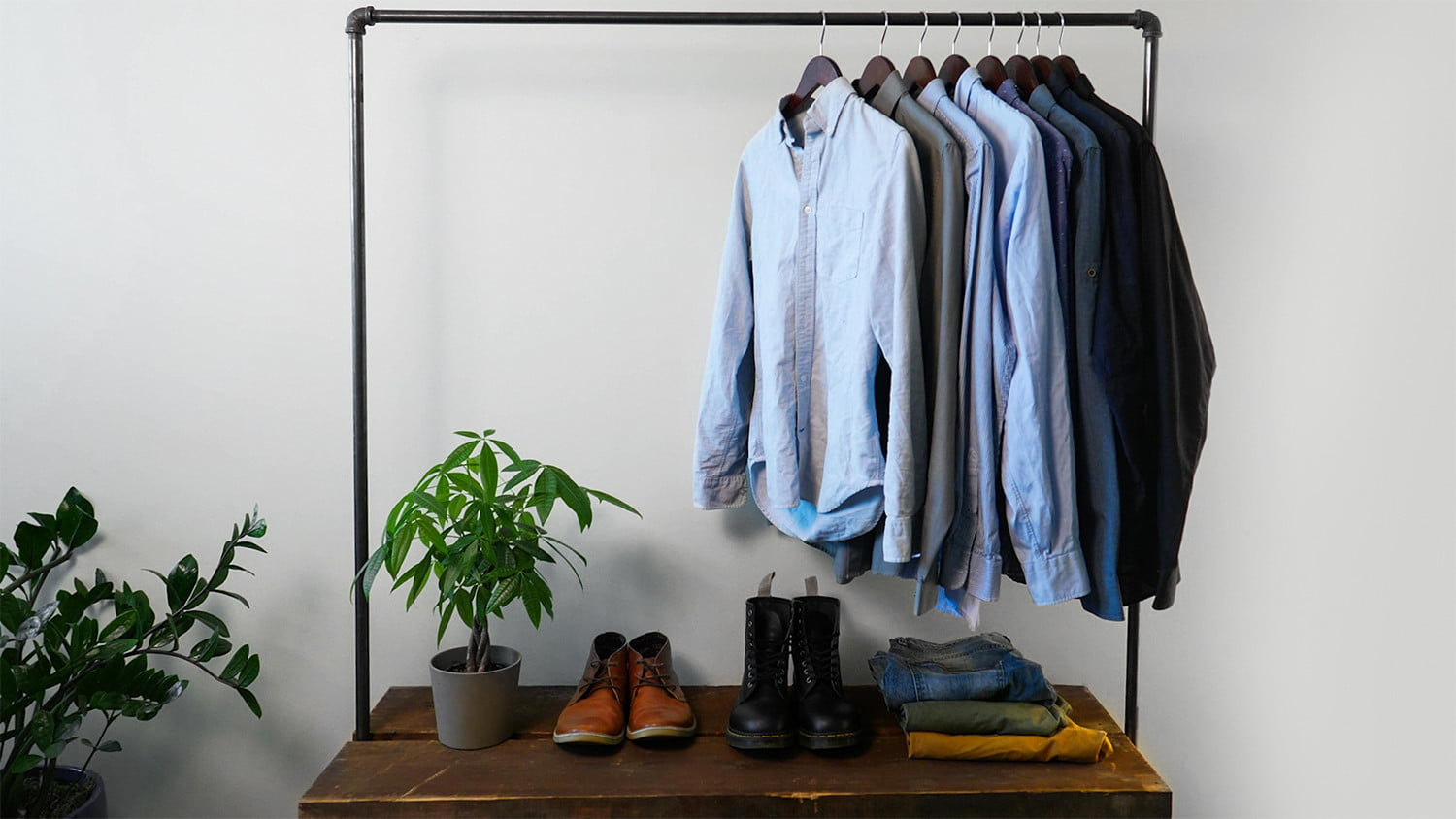 You can build this industrial clothes rack in a weekend. We'll show you how