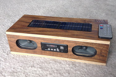 How to Build a Solar-Powered Bluetooth and MP3 Radio | Digital Trends