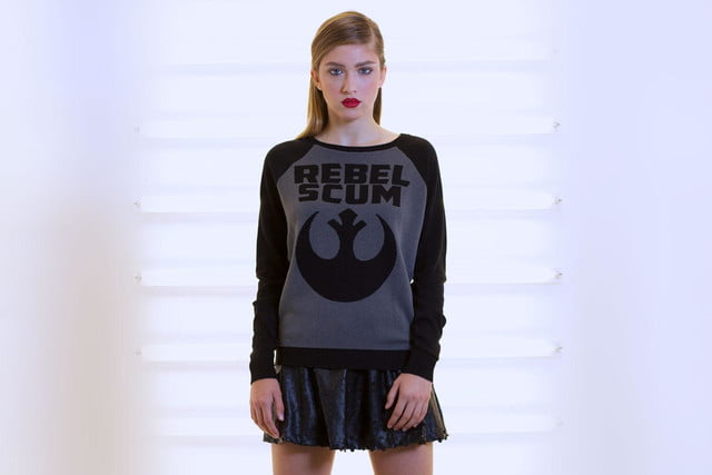 WeLoveFine Rebel Scum Logo Sweater