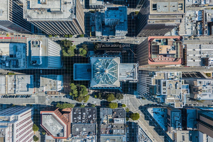 mapping a smart city what3words san francisco