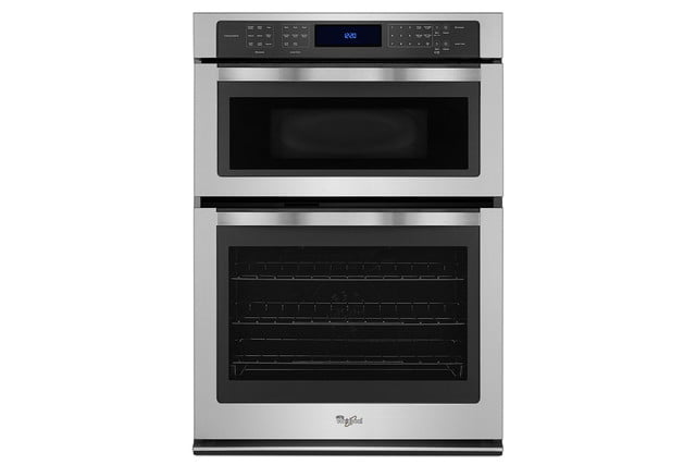 whirlpools smart appliances work with nest and amazon dash whirlpool 6 4 cu  ft combination wall oven p150072 3z