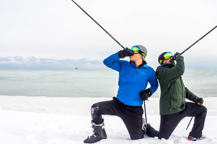 Awesome Tech You Can't Buy Yet: Booze-filled ski poles and crypto piggy banks