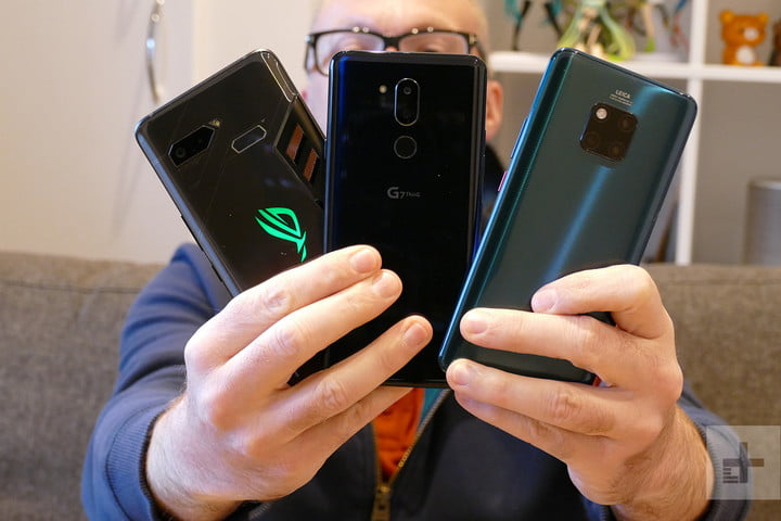 huawei mate 20 pro vs lg g7 asus rog phone camera shootout wide angle header