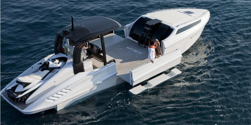 Wider 42 Yacht Contains An Expandable Deck Digital Trends