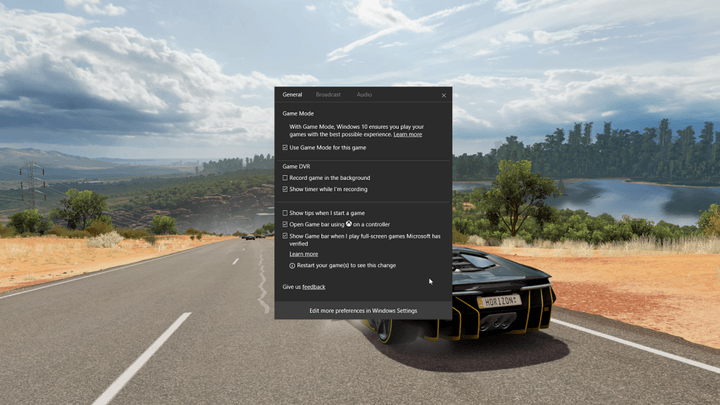 microsoft describes game mode and beam streaming coming in windows insider build 10 creators update