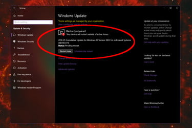 Cumulative Patch for Win 10 April 2018 Update Causing Infinite Boot