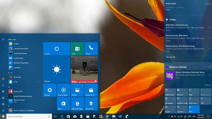 how to turn off notifications in windows 10 settings