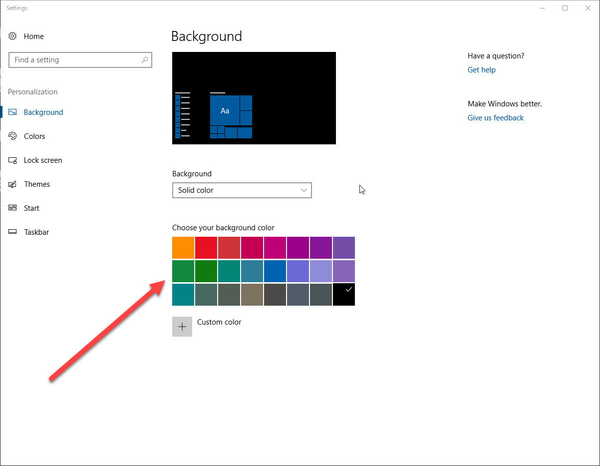 windows 10 how to change color temperature of screen