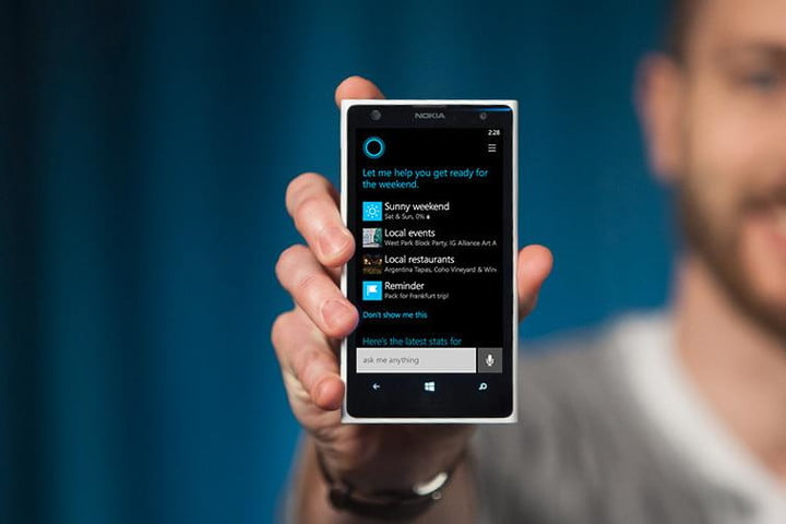 cortana guide how to use the windows phone voice assistant rh digitaltrends com Search the Web Website Google Search