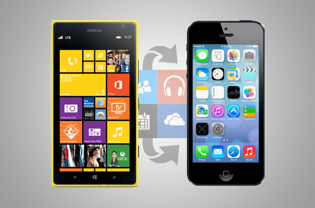 contacts nokia lumia 800 to iphone 5