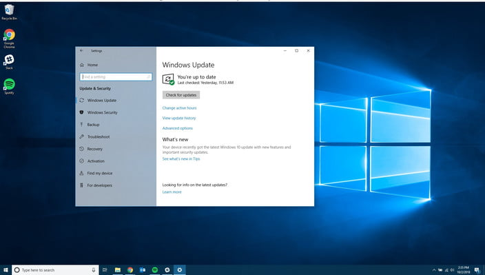 how to install wndows 10 october 2018 update windows