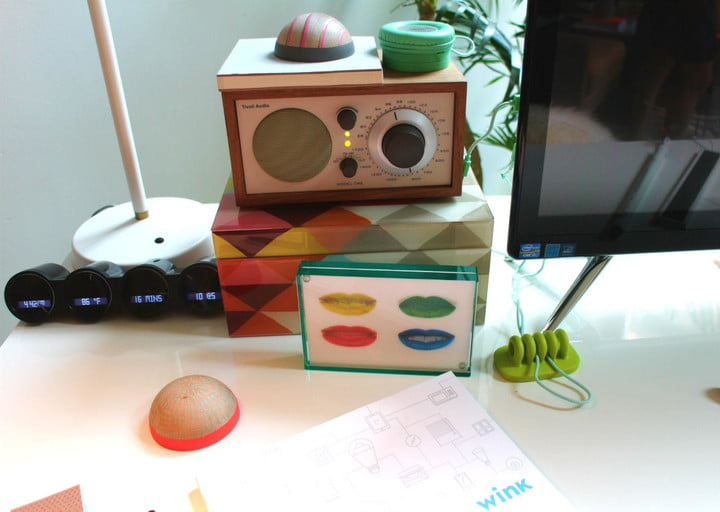Living in a smart home as imagined by Quirky's Wink