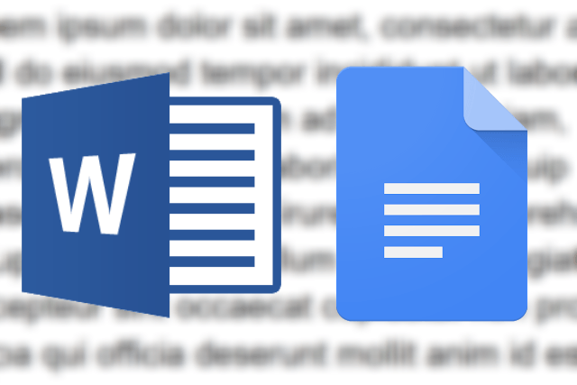Should You Use Microsoft Word Or Google Docs Digital Trends - Google docs word processor