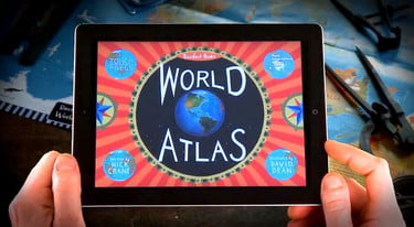 The Best Ipad Apps For Toddlers New Atlas >> New Atlas App Invites Children To Take The World For A Spin
