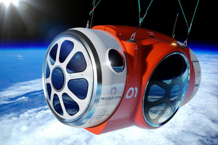 Startup successfully tests space tourism balloon, service set to lift off in 2016