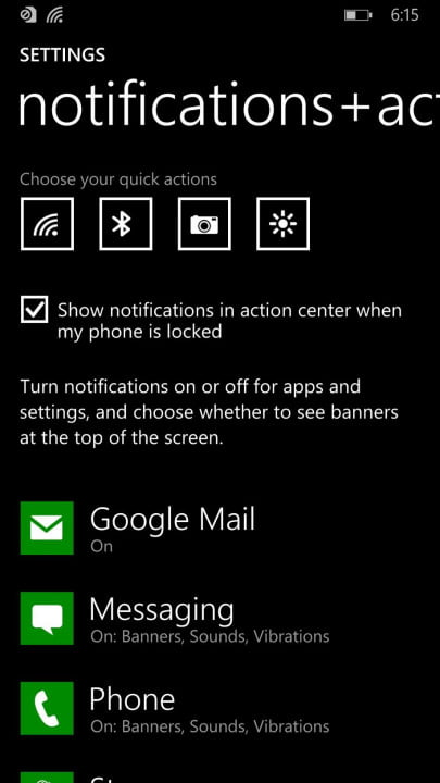 windows phone 8 1 review notifications 2