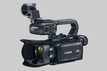 Canon unveils three new compact, pro-level camcorders with big zoom, but no 4K