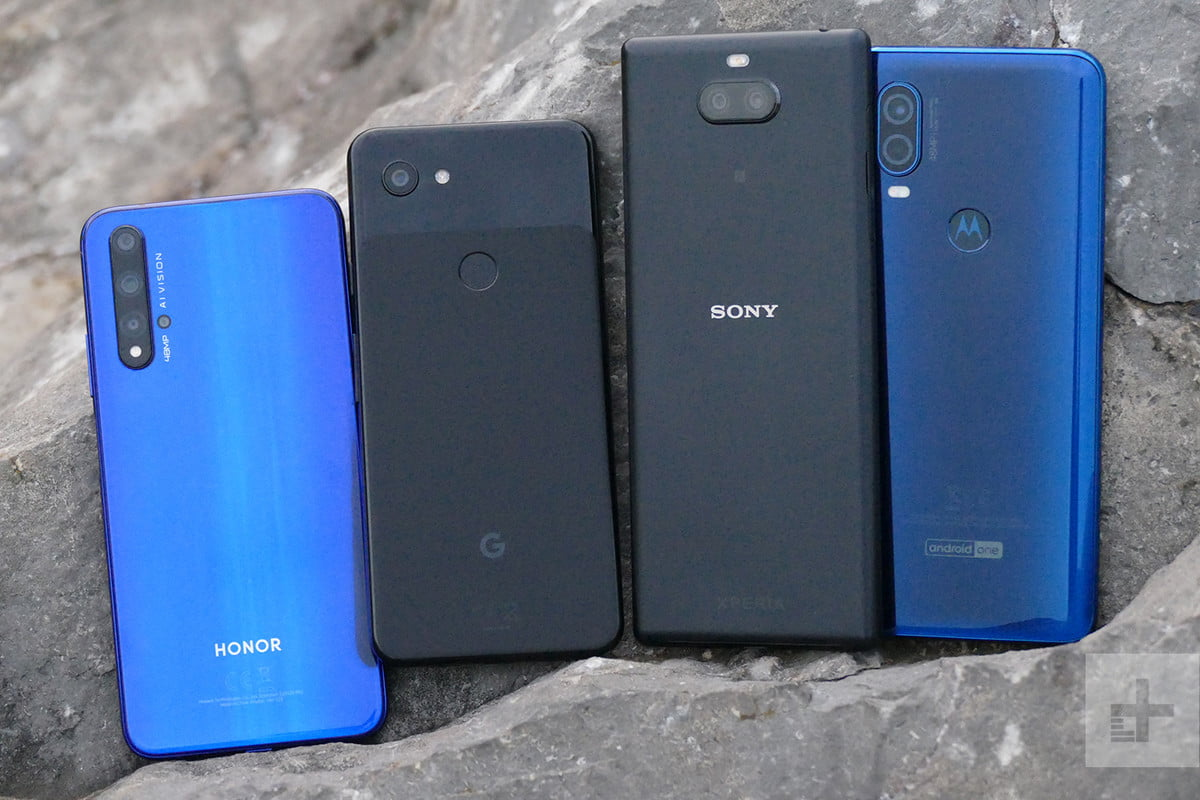 Which budget phone has the best camera? We tested four to find the answer