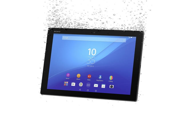 Xperia Z4 Tablet front angle