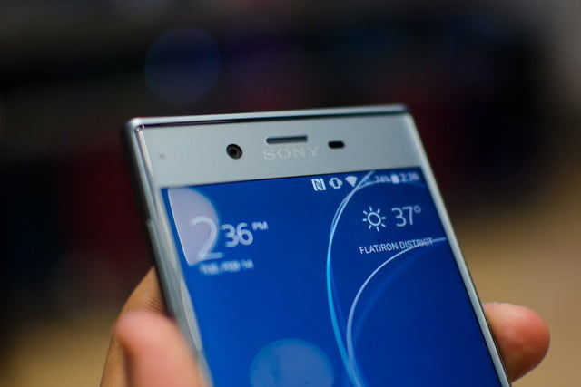 sony facial recognition demo xperiaxzs 8