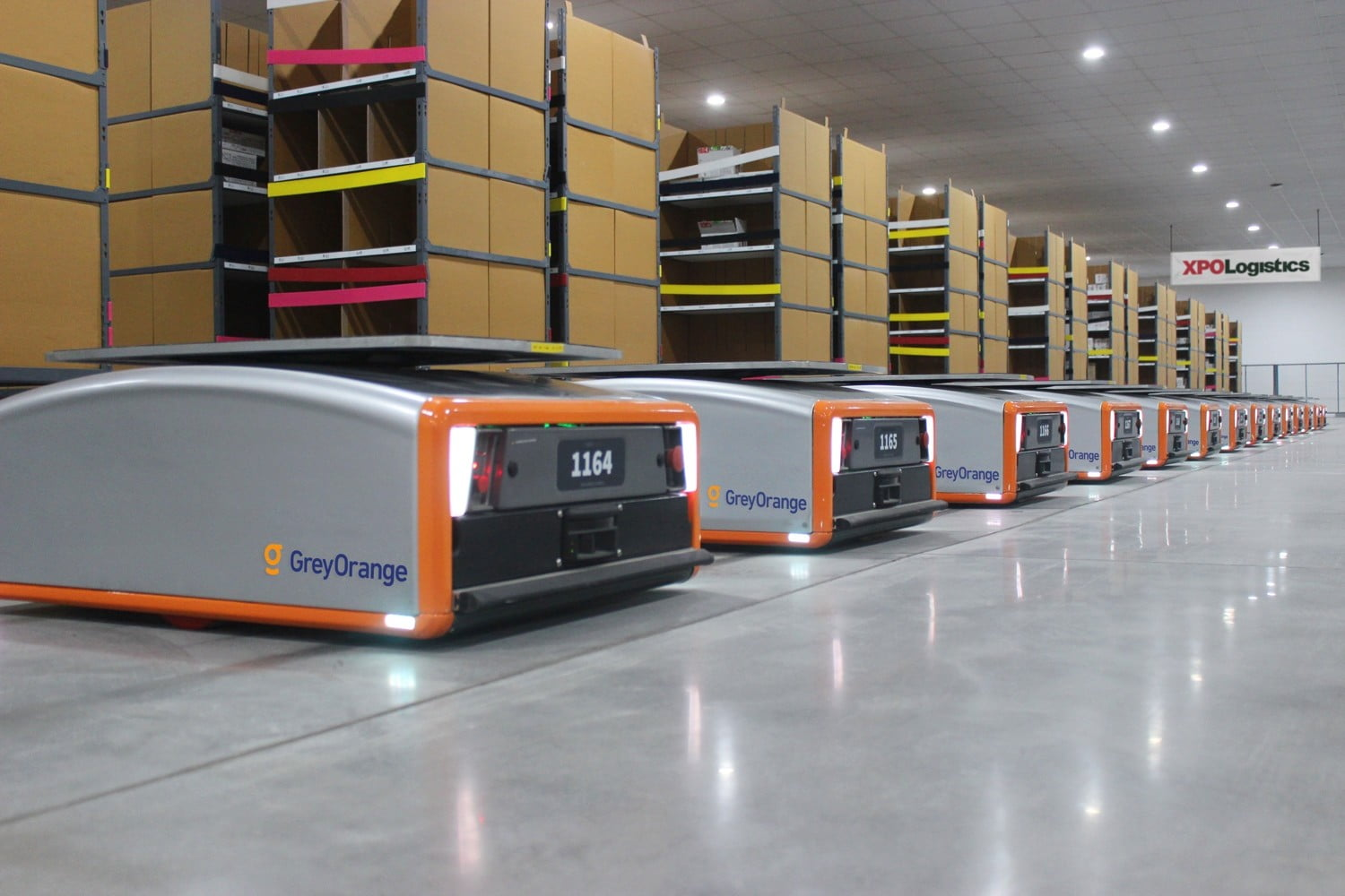 XPO Logistics Will Add 5,000 Smart Robots to Help Speed Up