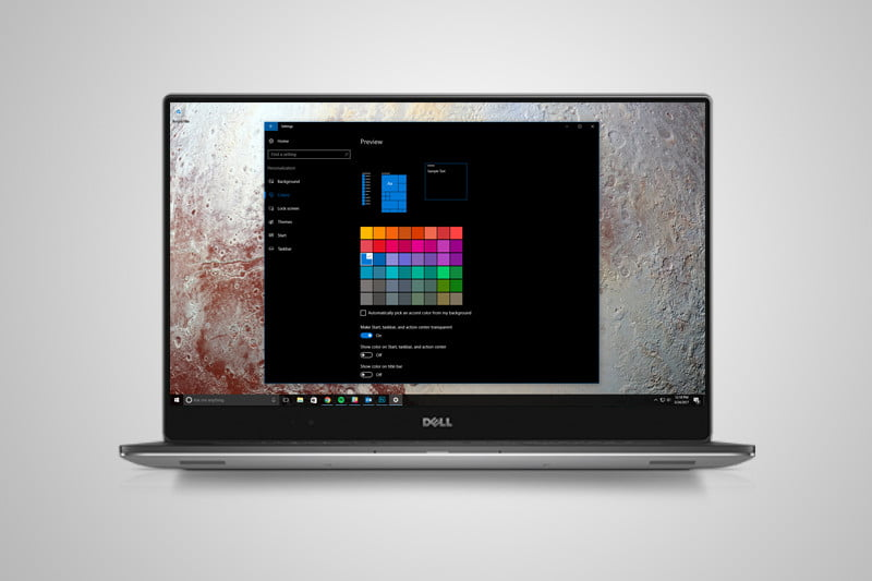 windows 10 xps option is not enabled