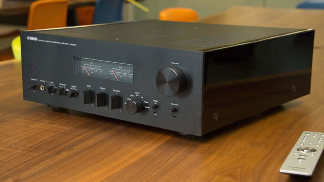 yamaha a s2100 integrated amp hands on review video