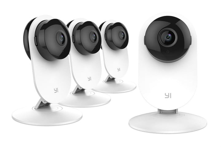 YI 4-Piece Home Camera System