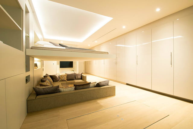 the yo home apartment has a bed that raises to ceiling transformable & The Yo! Home Apartment Has a Bed that Raises to the Ceiling ...