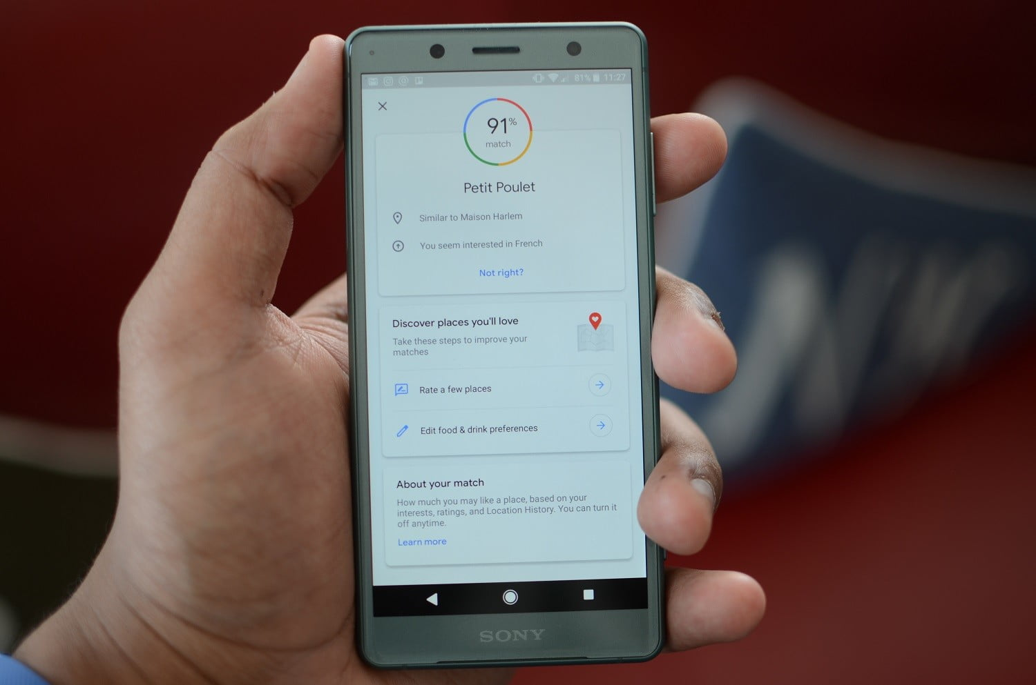 Google Maps Update Rolls Out With Location-Based Recommendations