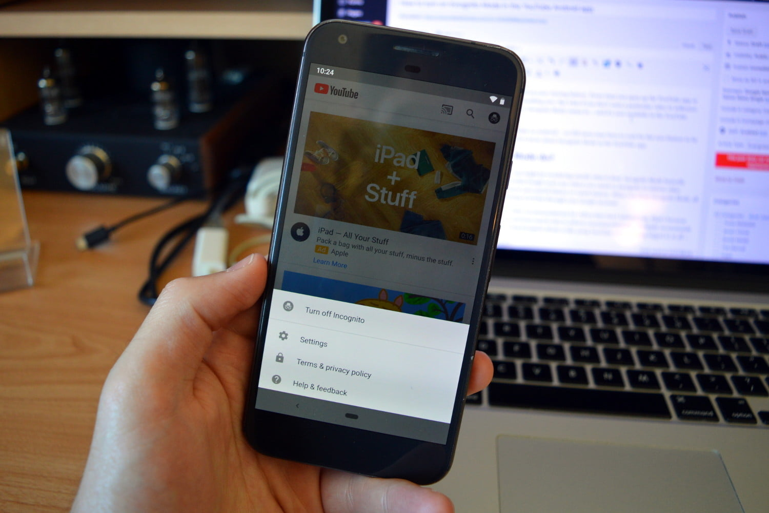 How To Use YouTube's Incognito Mode In The Android App | Digital Trends