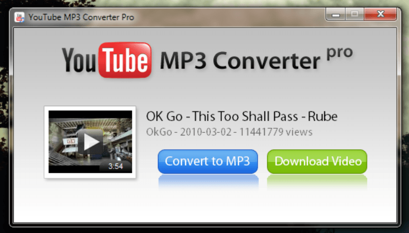 youtube to mp3 converter download software
