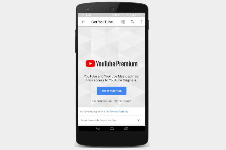 how to play youtube in the background premium