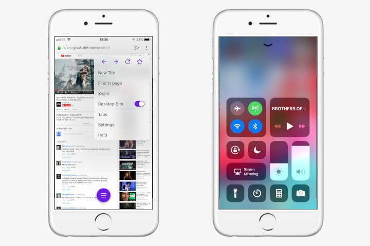 how to play youtube in the background screen off ios browsers