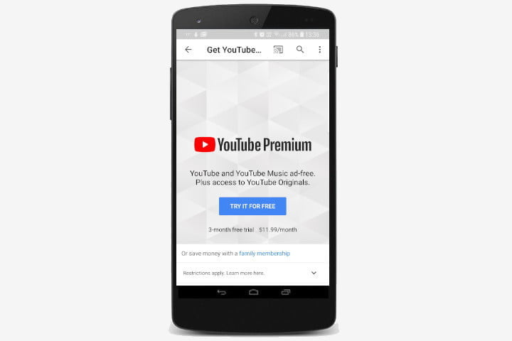 how to play youtube in the background screen off premium