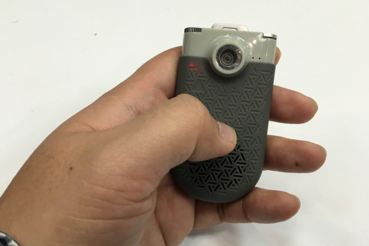 zagg now cam is a pocket camcorder that doubles as mini bluetooth speaker inhand 1