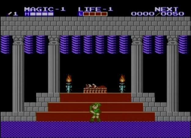 best nes games ever zelda 2 adventure of link