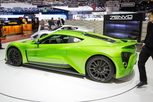 zenvo st1 might tried set top gear fire still awesome 3