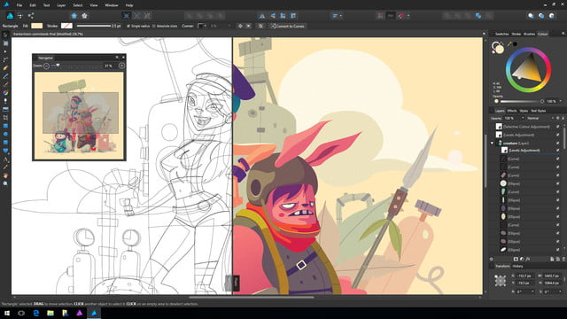Windows users can now take advantage of award-winning Affinity Designer